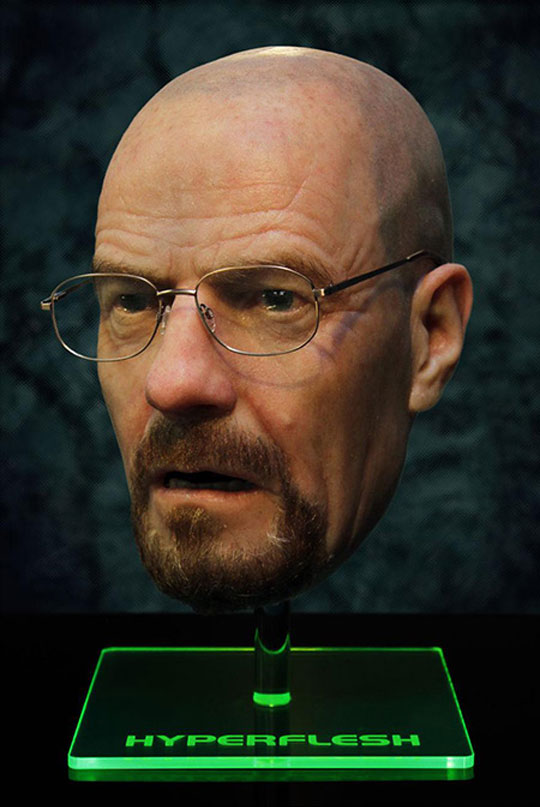 Breaking Bad Actor's Ultra Realistic $18 000 Mask