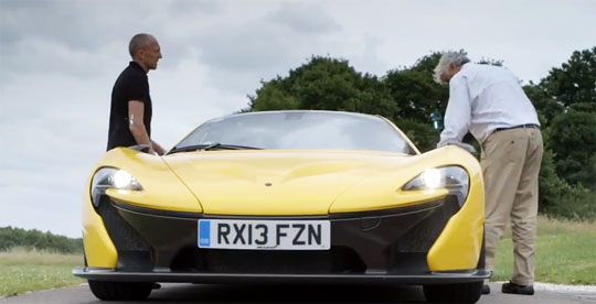 Jay Leno Gets To Drive The McLaren P1 Before Everyone Else