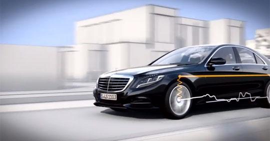 Amazing Mercedes Benz Live Body Stabilization Control