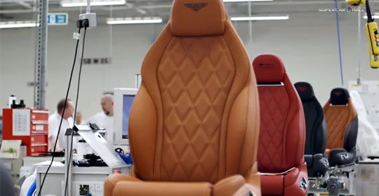 Inside Bentley's Factory of Luxury Leather for Cars