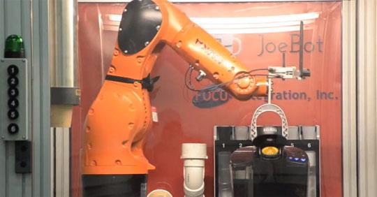JoeBot - Coffee-Making Robot