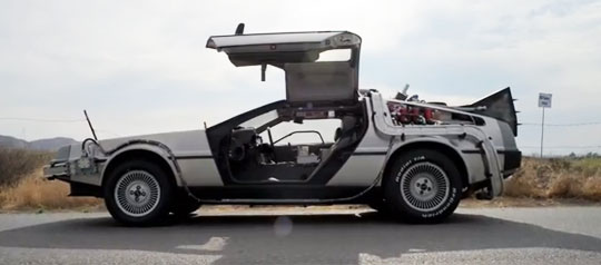 1981 Delorean - Time Machine