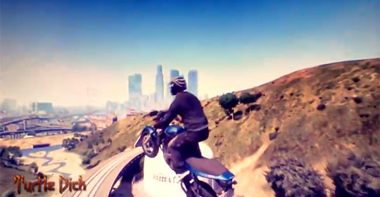GTA V Extremely Unrealistic Stunts Compilation