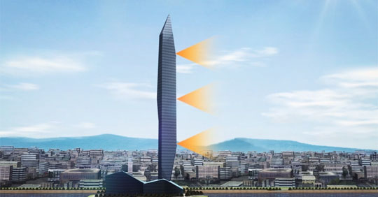 South Korea Set to Build an Invisible Skyscraper