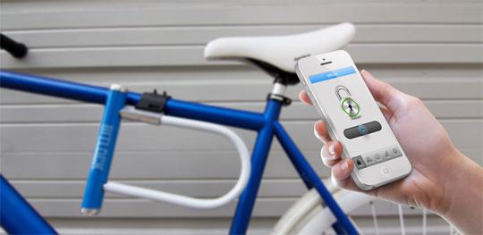 Bitlock - The World's First Keyless Bike Lock