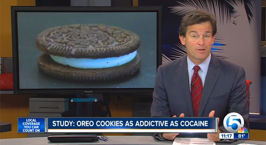 Scientists Say Oreo Cookies Are as Addictive as Cocaine
