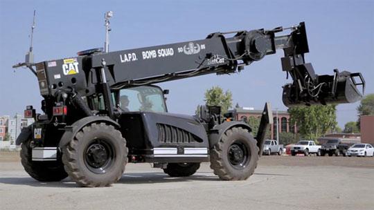 LAPD BatCat - Remote Controlled Beast