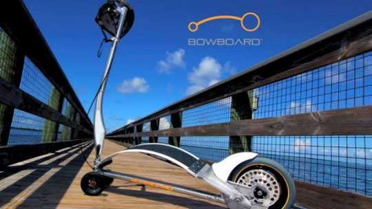 Bowboard - Bounce to Propel Yourself