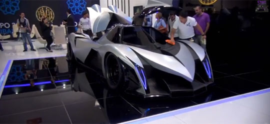Devel Sixteen - 5,000hp V16 Hypercar with 560km/h