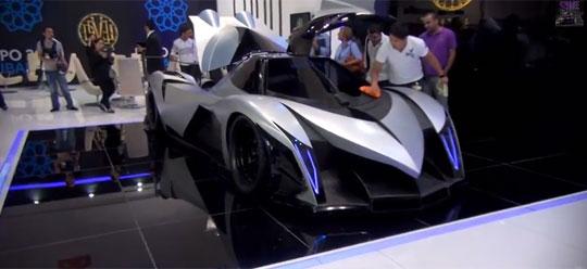 Devel Sixteen - 5,000hp V16 Hypercar with 560km/h