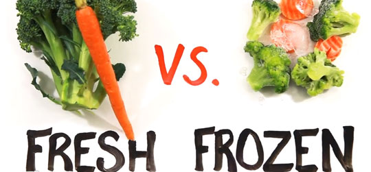 Fresh vs Frozen Food - Not so Obvious