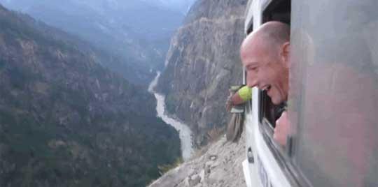 Terrifying Van Ride Up the Himalayas