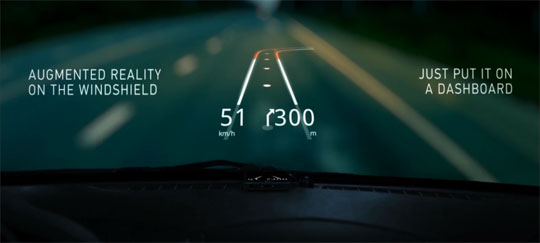 Hudway App Turns Your Phone Into a Head-up Display