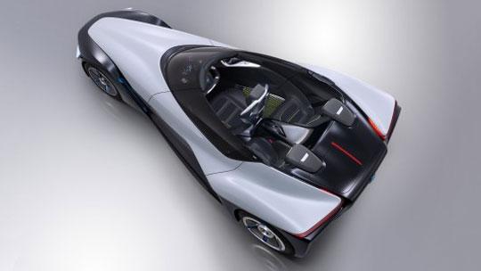 Nissan's BladeGlider Concept Car
