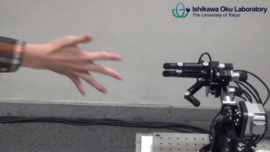 Unbeatable Rock-Paper-Scissors Robot