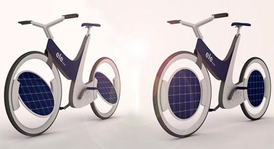 Ele - Solar Bike Concept