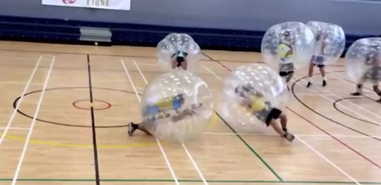 Bubble Football - Where Do I Sign Up?