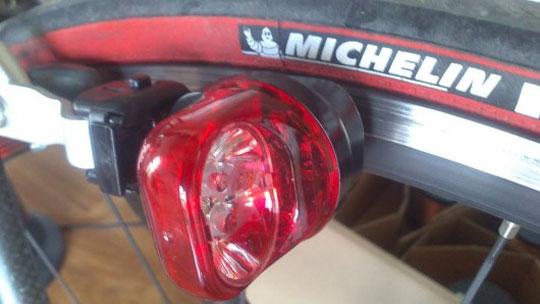 Wheel Powered Bike Light Dynamo-powered Bike Light