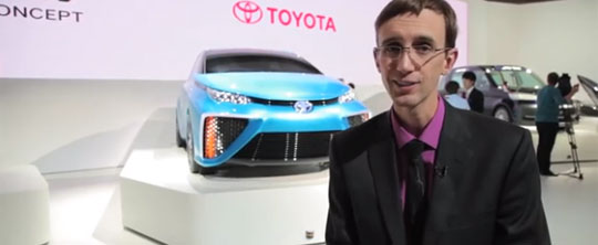 Toyota's New FCV (FuelCell) Concept