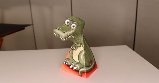 Second Look at the Amazing T-Rex Illusion