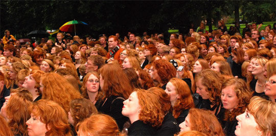 The Science Behind Redheads