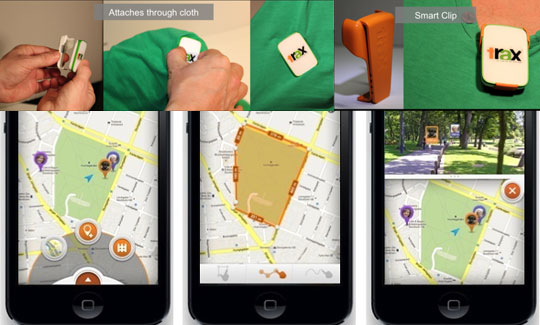 GPS Tracker for Children and Pets