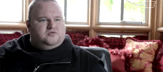 The Man Behind Megaupload is Interesting