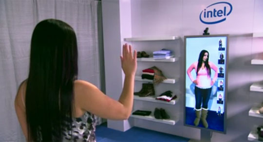 MemoryMirror - First Body-Controlled Smart Mirror