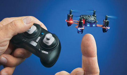 World's Smallest Production Quadcopter