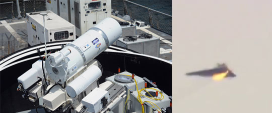 U.S Navy Finally Deploying Giant Lasers (LaWS)