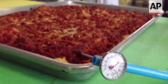 Military Creates Pizza Which Lasts 3 Years