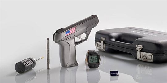 Smart Gun Can Only Be Fired by It's Owner