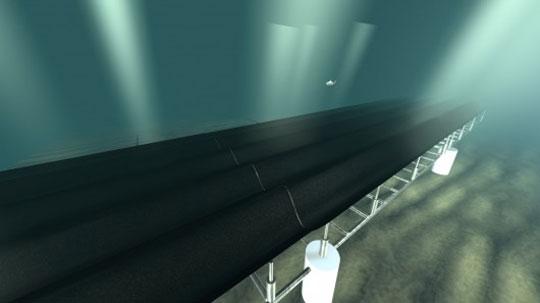 SeaFloor Carpet Harness Wave Power