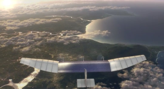 Facebook's Drone-and-Laser Plan to Give Internet to Everyone