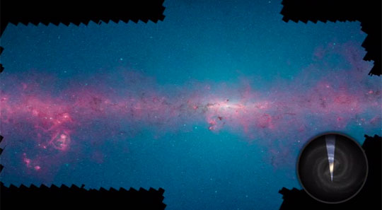 NASA Releases Clearest Infrared Milky Way Panorama Ever Made