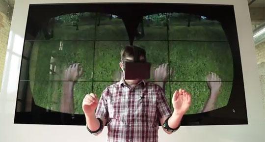 Myo Armband + Oculus Rift=Pure Awesomeness