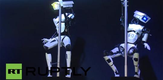 Poledancing Robots