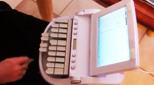 The Machine Used to Type Fast in Court Rooms