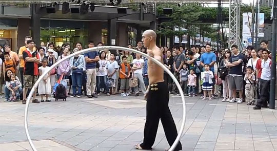 This Amazing Street Performer Will Make You Give Away All Your Change