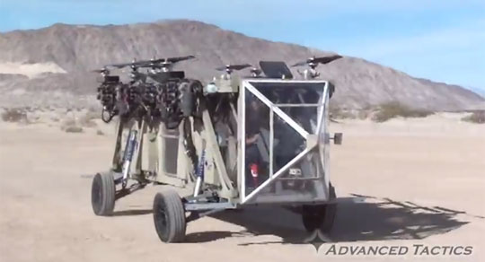 Test Flight of the Transformer - Flying Truck