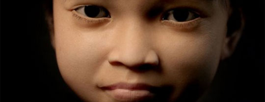 3D Rendering of a Young Girl Brings Child Abusers to Justice