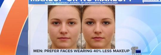 Men Prefer When Women Wear Less Makeup
