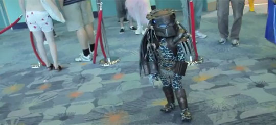 PredaToddler Is The Cutest Cosplay Ever