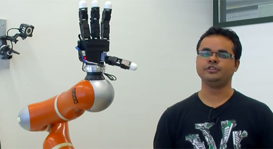 Ultra-fast Robotic Arm Catching Objects
