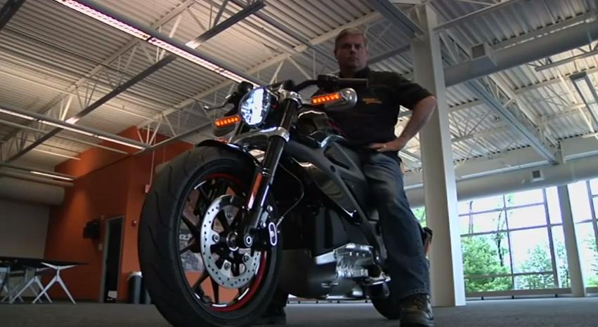 Electric Harley Davidson