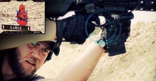 Shoot Around Corners with Google Glass