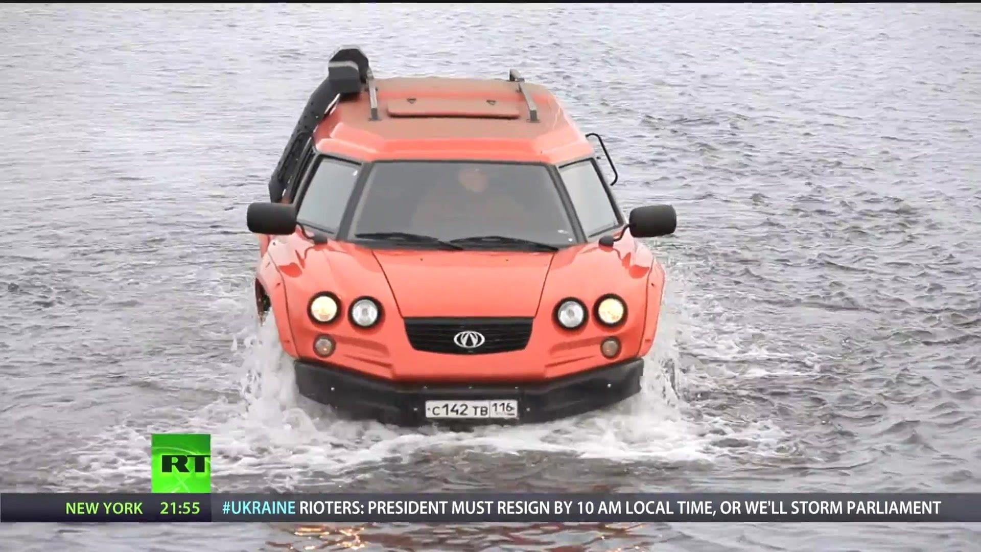 Aton Impulse Viking - Amphibious Off-Road Vehicle