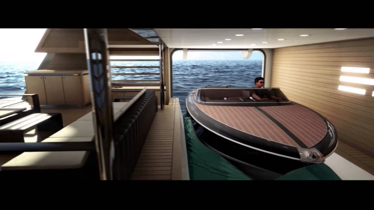 A Super-Yacht With a Garage For Smaller Boats