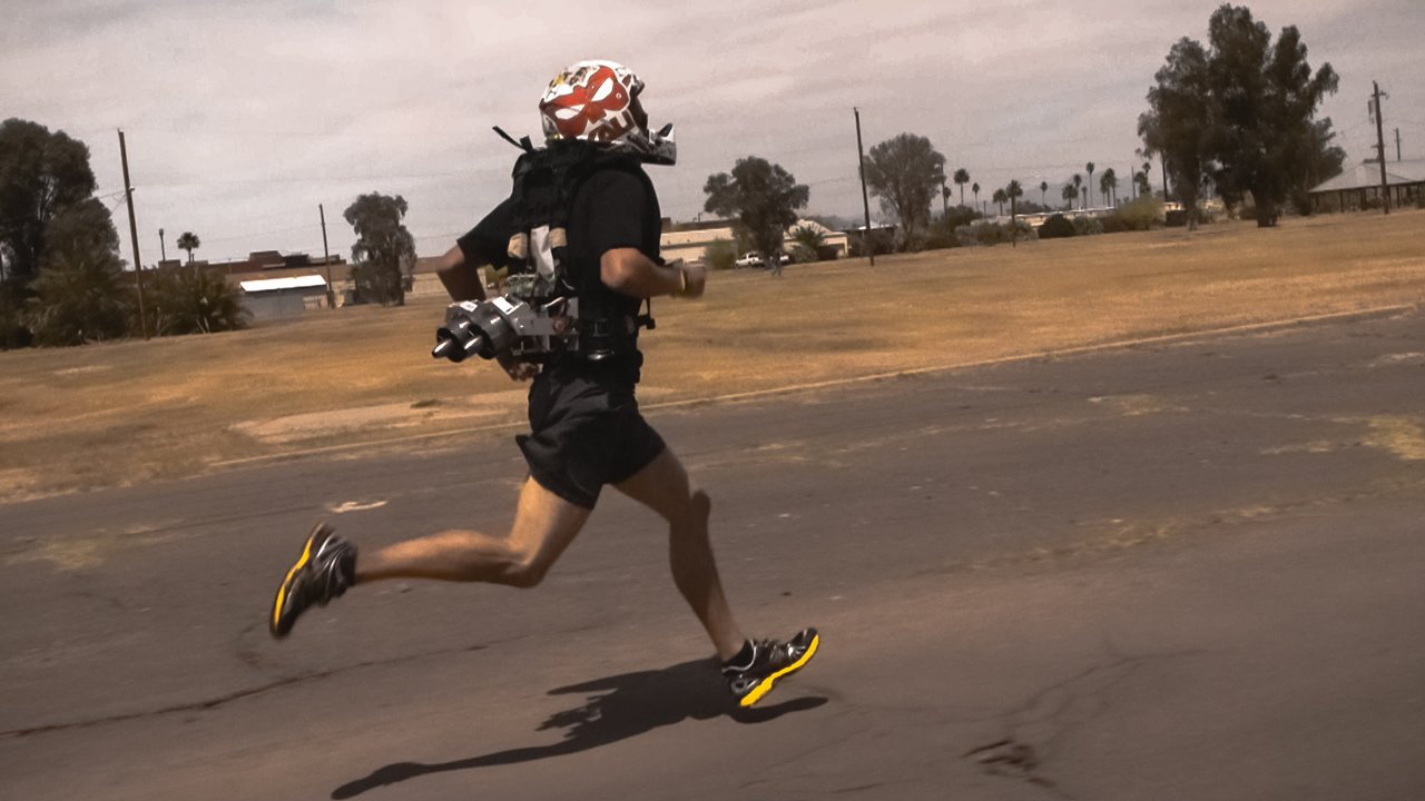 JetPack Helps Soldiers Run Faster