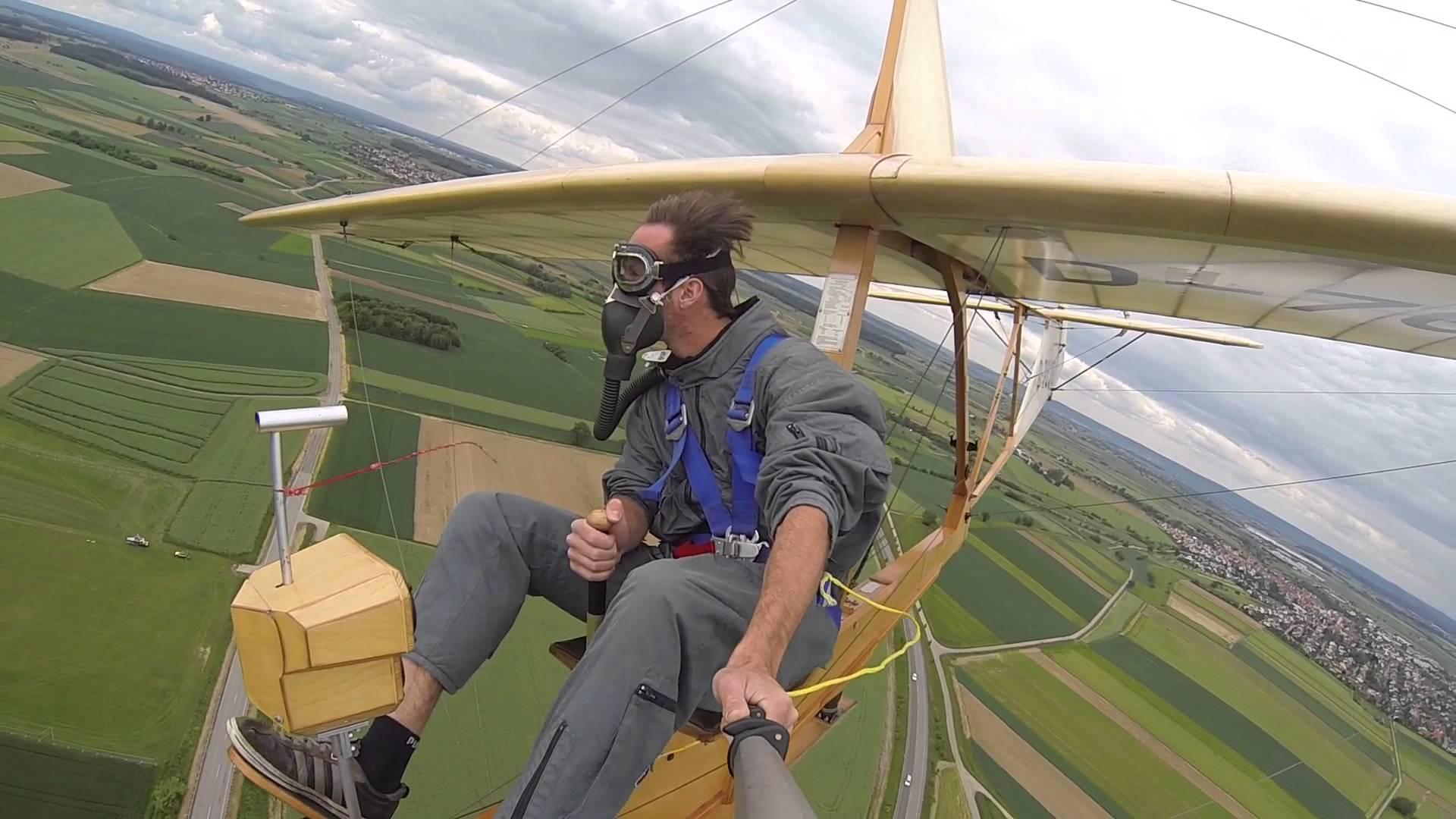 Open Air Glider Looks Fun
